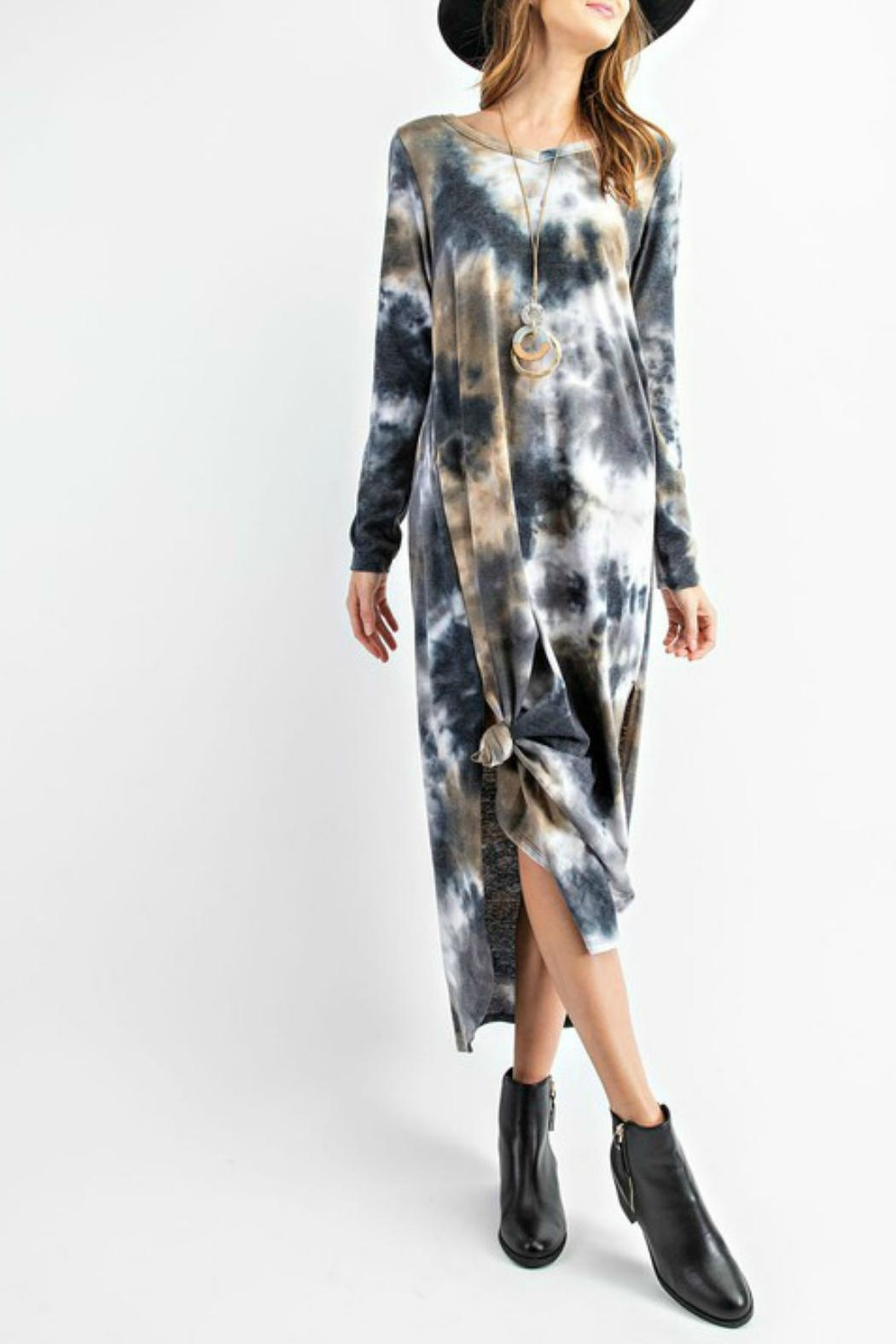 RAE MODE Tie Dye Pocketed Dress - Main Image