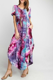 RAE MODE Tie-Dye Pocketed Dress - Product Mini Image