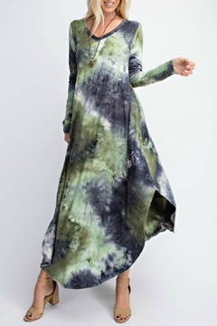 RAE MODE Tie-Dye Pocketed Dress - Product List Image