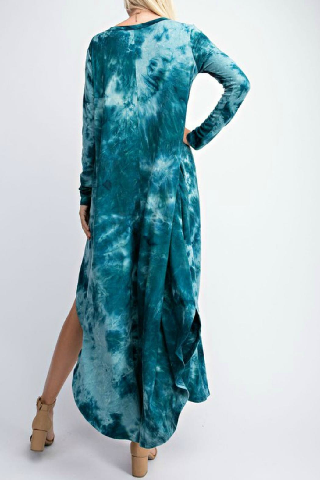 RAE MODE Tie Dye Pocketed Dress - Side Cropped Image