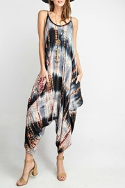 RAE MODE Tie-Dye Pocketed Jumpsuit - Front cropped