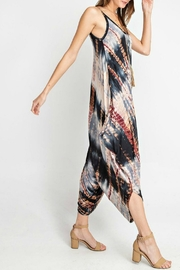 RAE MODE Tie-Dye Pocketed Jumpsuit - Side cropped