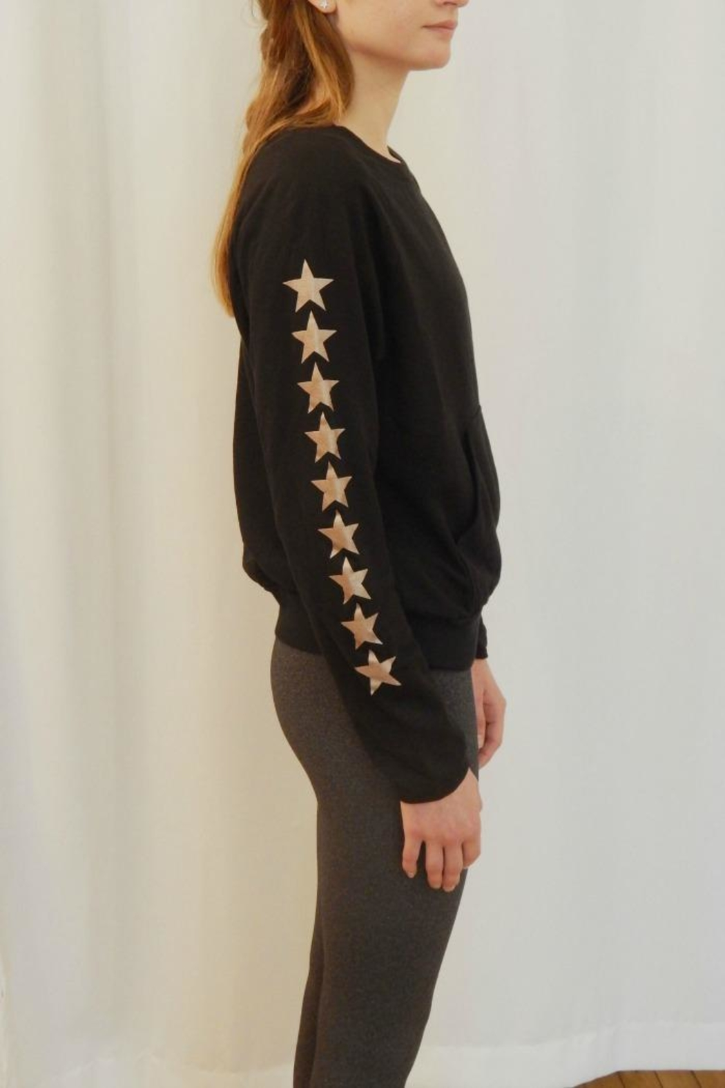 Hard Tail Raeglan Star Sweatshirt - Front Full Image