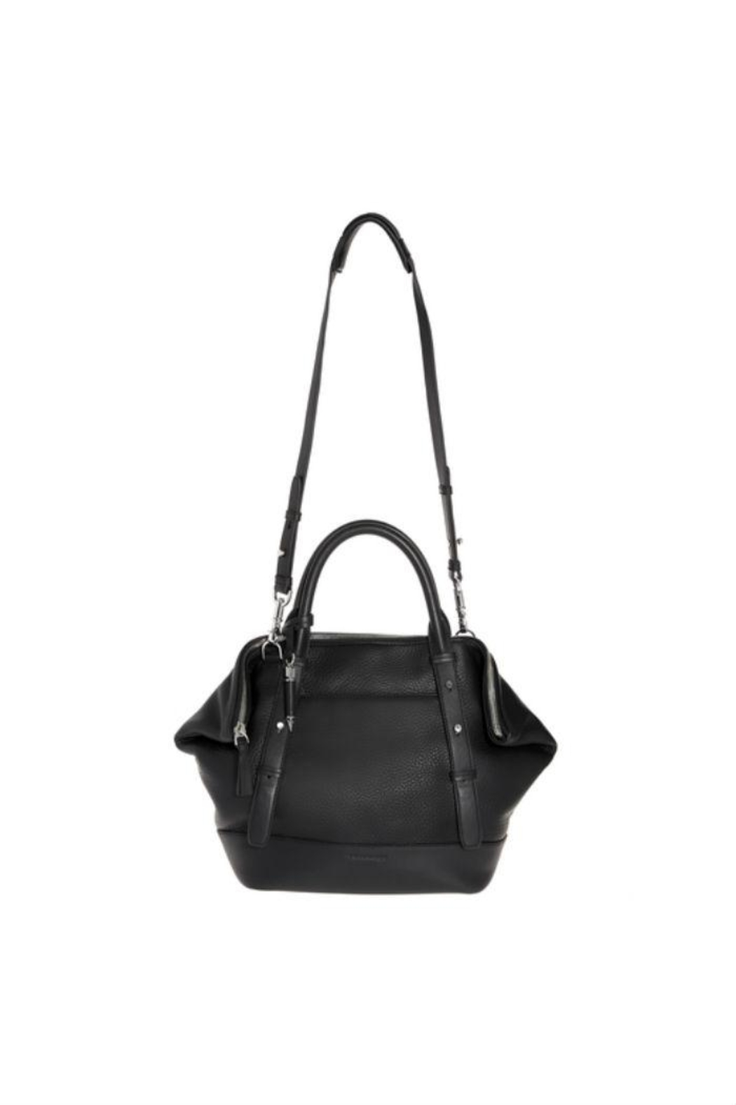Mackage Raffa Leather Satchel - Side Cropped Image