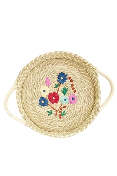 Rice DK Raffia Bread Basket - Alternate List Image