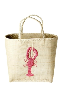 Rice DK Raffia Lobster Bag - Product List Image