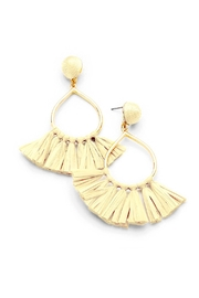 Wild Lilies Jewelry  Raffia Tassel Earrings - Product Mini Image