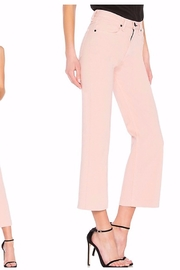 Rag & Bone Justine Cropped Twill Trouser Jeans - Front full body