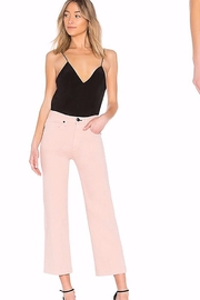 Rag & Bone Justine Cropped Twill Trouser Jeans - Front cropped