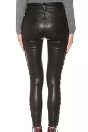 Rag & Bone Kiku Side Lace Leather Pants - Side cropped