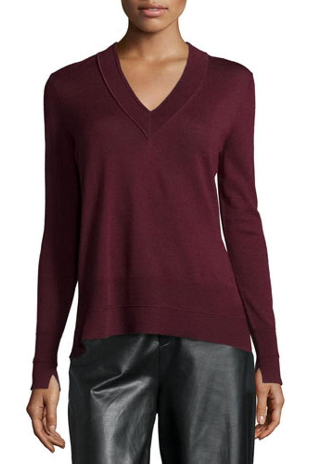 Rag & Bone Burgundy Long-Sleeve Sweater from Canada by Era Style ...
