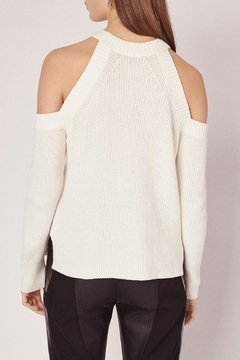 Shoptiques Product: Dana Cold Shoulder Sweater