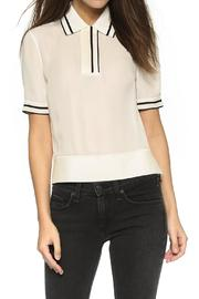 Rag & Bone Dana Silk Polo - Product Mini Image