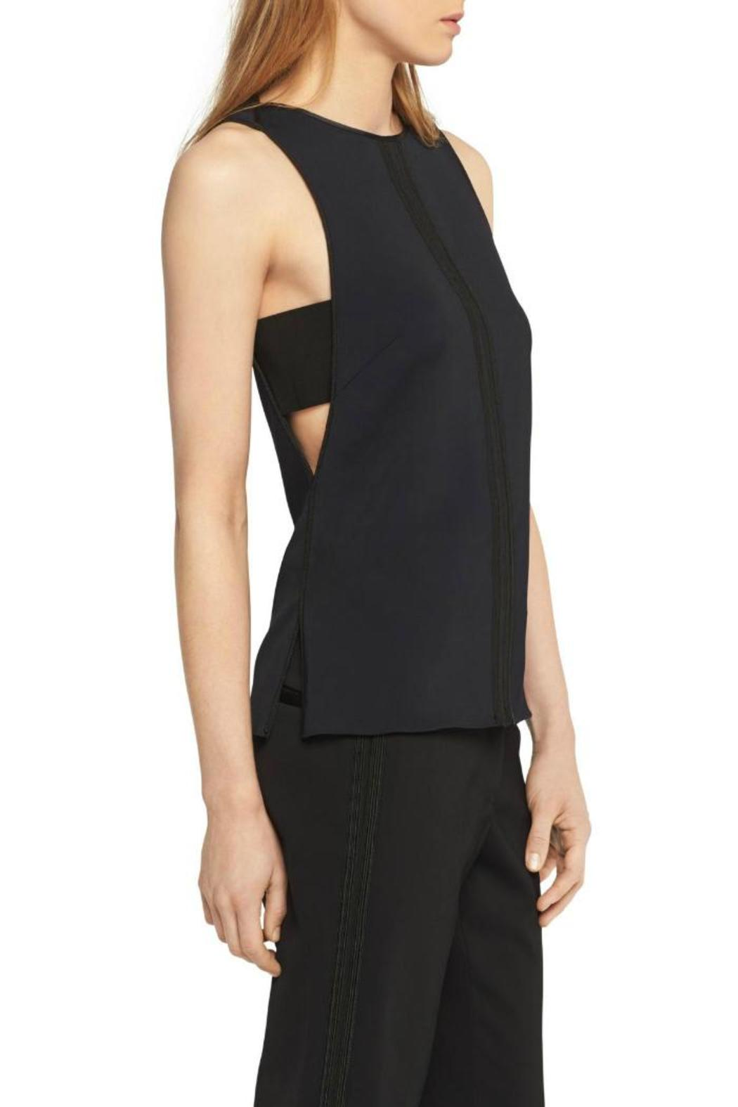 Rag & Bone Dant Crepe Top - Front Full Image