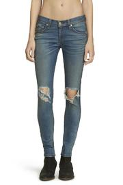 Rag & Bone Distressed Carmine Skinny - Product Mini Image
