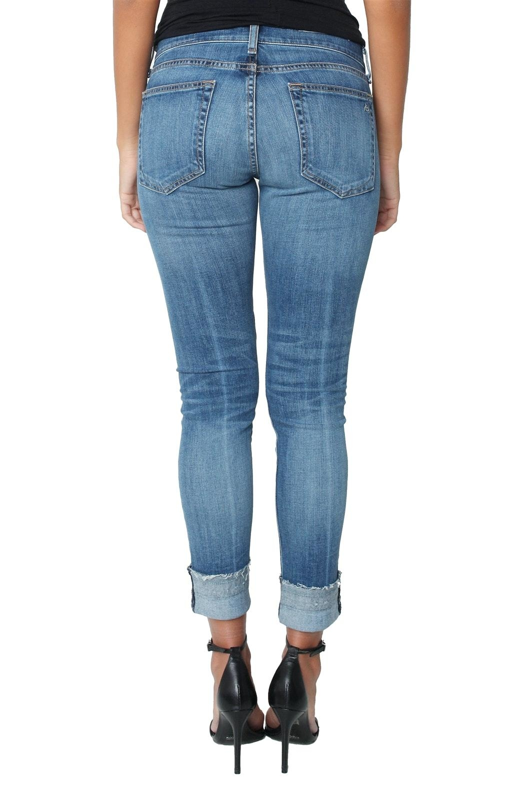 Rag & Bone Dre Coopers Jeans - Back Cropped Image