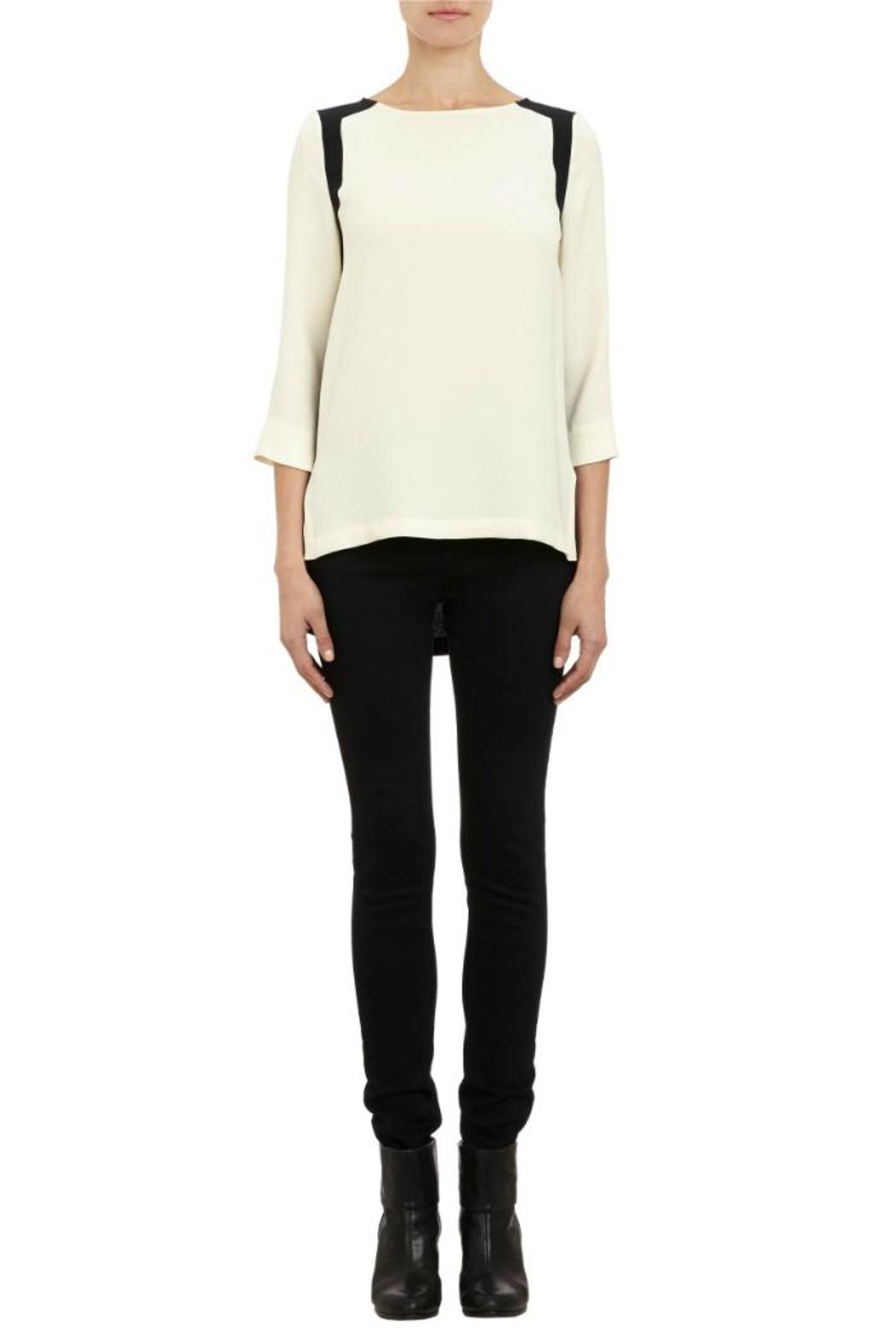 1b972fa5c6a1 Rag   Bone Jade Colour-Block Blouse from Canada by Era Style Loft ...