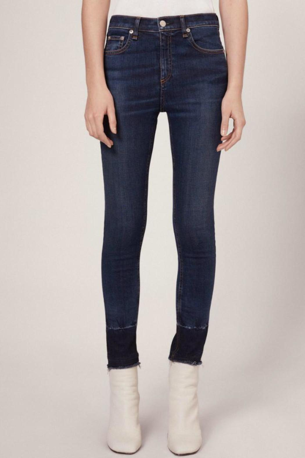 Rag & Bone 10 Inch Capri Stanwix - Front Cropped Image