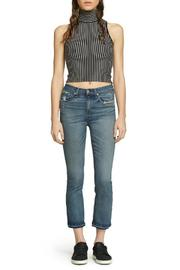 Rag & Bone Cropped Stark Skinny - Back cropped