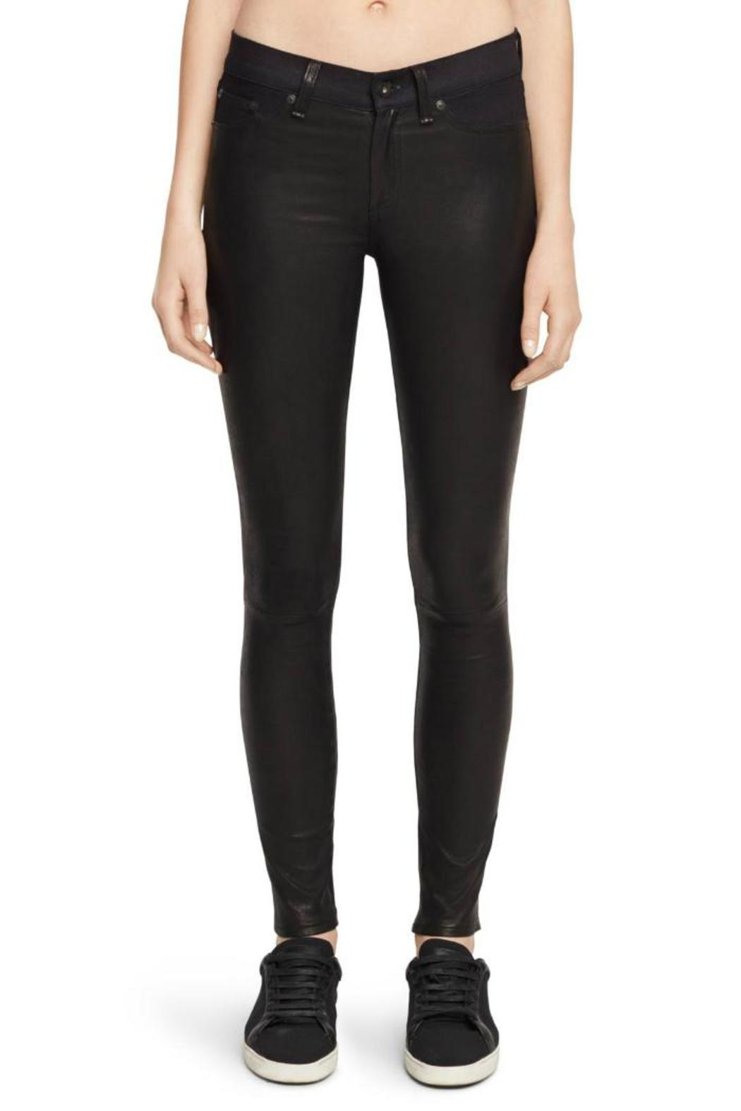 0fb37d09d6e2fa Rag & Bone Hyde Half Leather Pants from Canada by Era Style Loft ...
