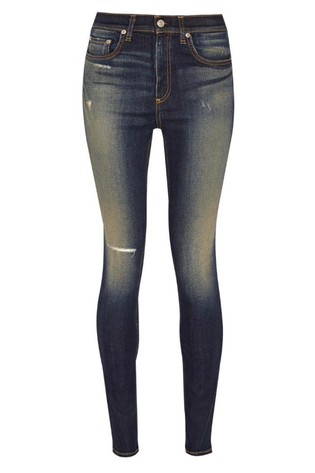 Rag & Bone Justine Highrise Skinny - Side Cropped Image