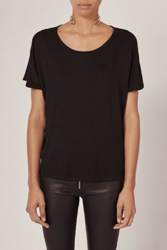 Rag & Bone Mia Tee Black - Alternate List Image