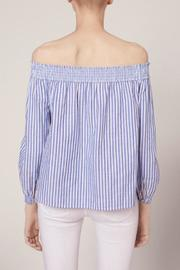 Rag & Bone Striped Drew Top - Front full body
