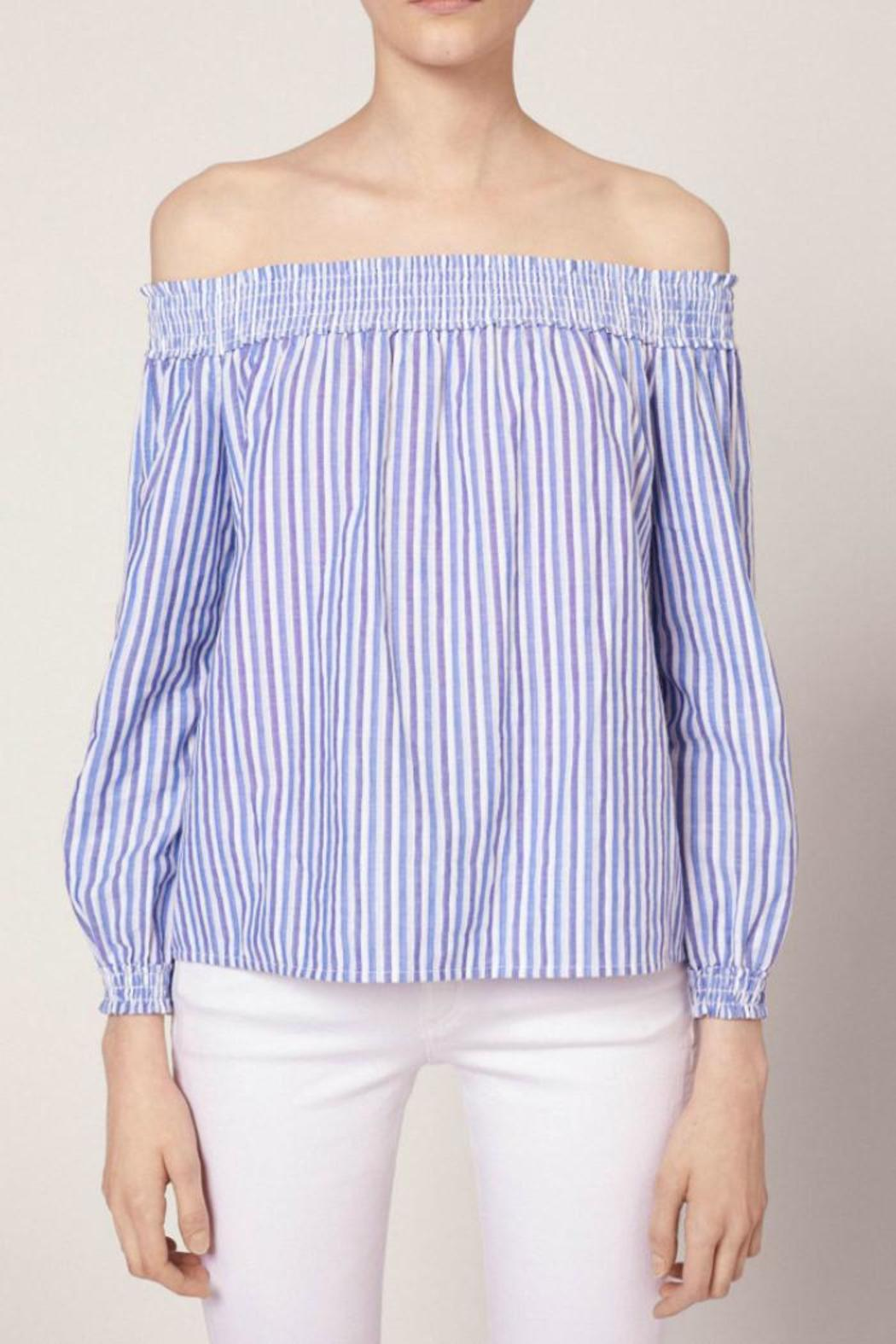 Rag & Bone Striped Drew Top - Main Image