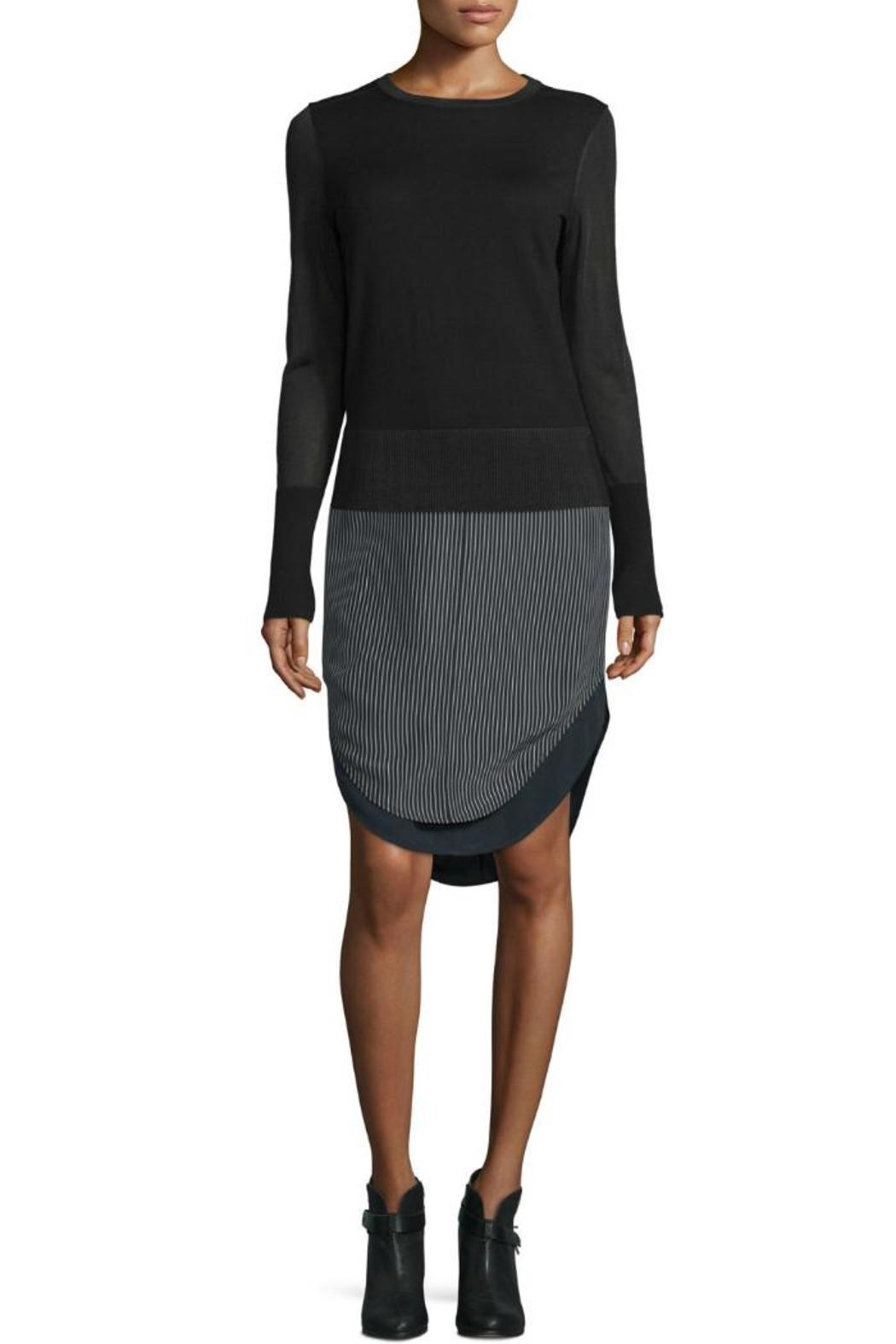Rag & Bone Madison Pinstripe Skirt - Side Cropped Image