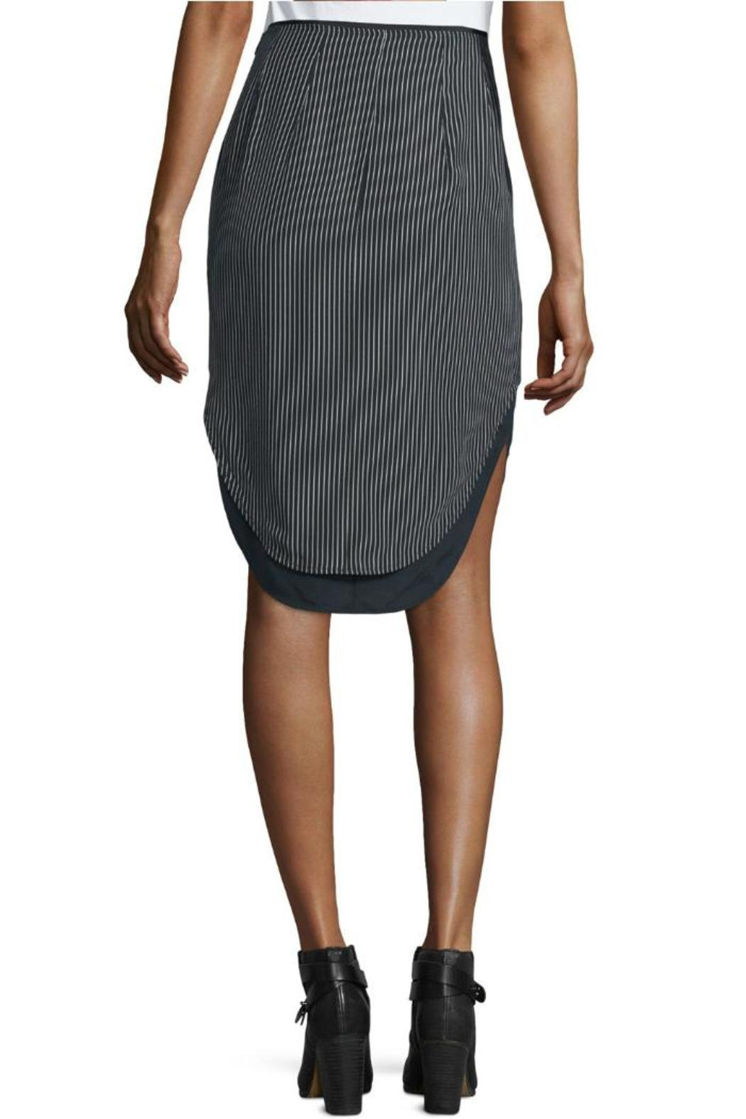 Rag & Bone Madison Pinstripe Skirt - Front Full Image