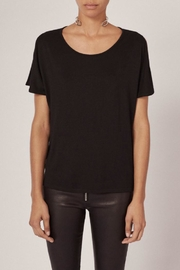 Rag & Bone Mia Tee Black - Product Mini Image