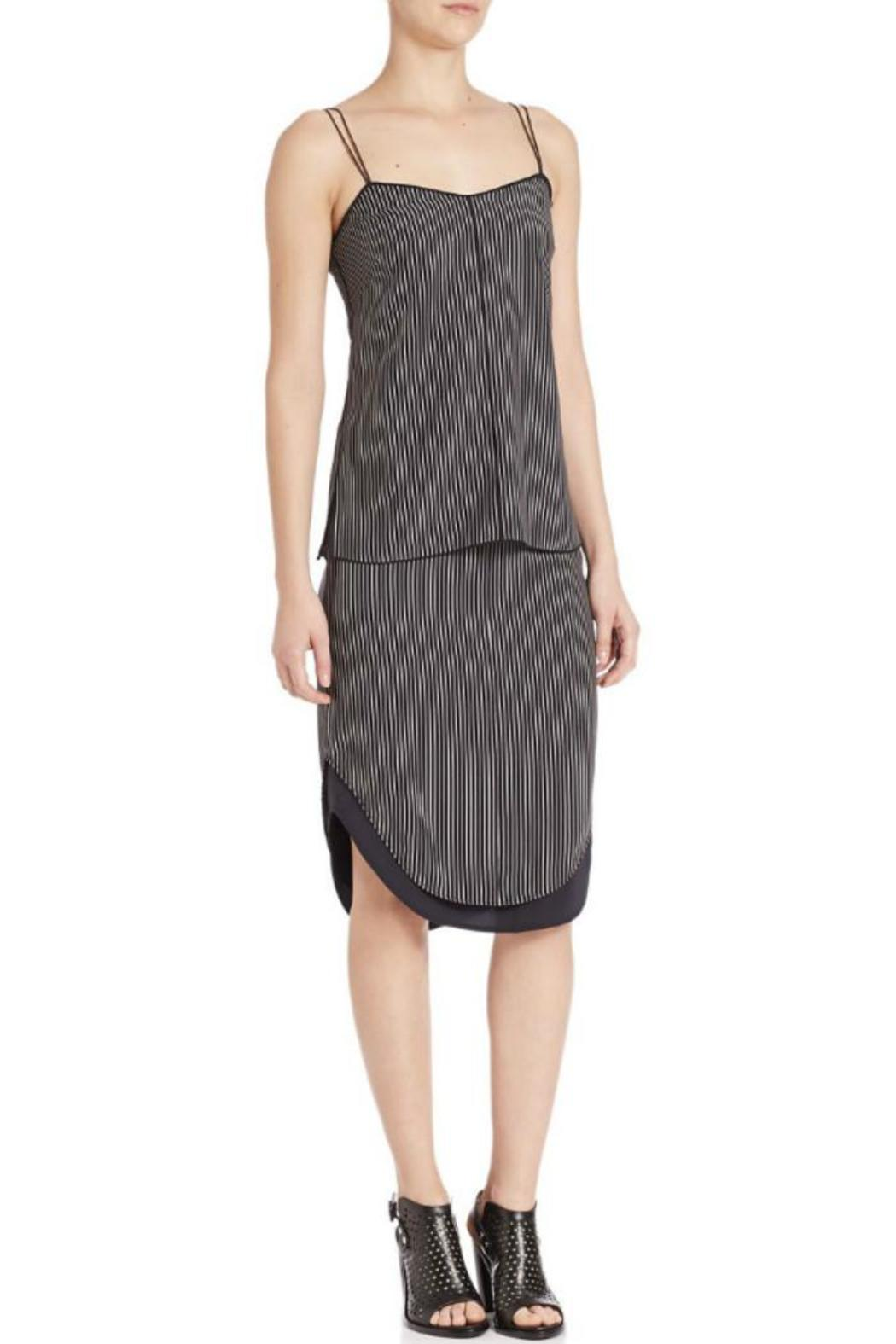 Rag & Bone Patti Silk Pinstripe Camisole - Side Cropped Image