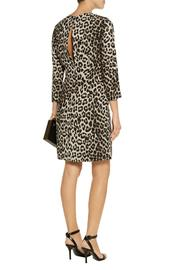 Rag & Bone Short Leopard Dress - Front full body