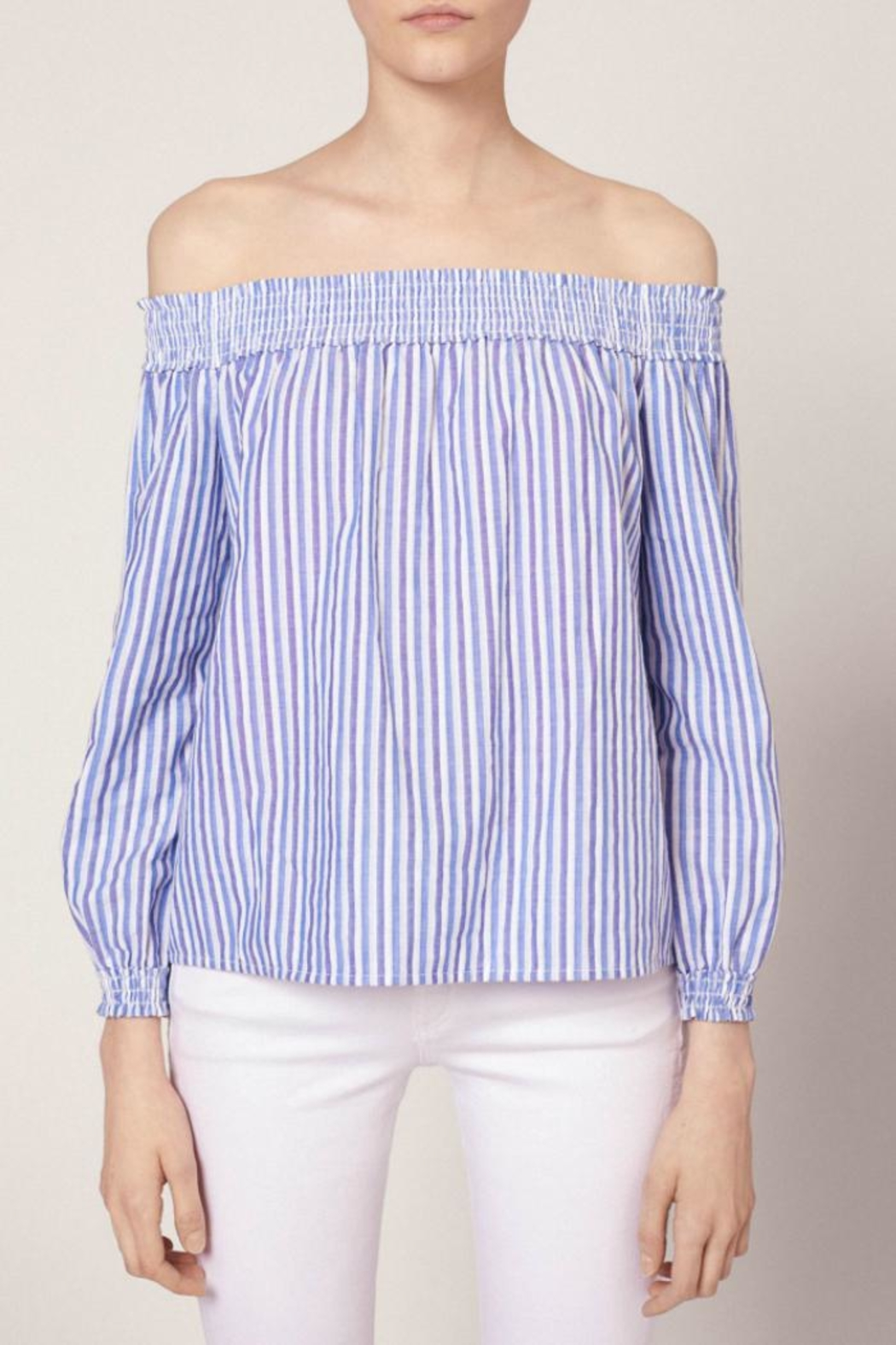 Rag & Bone Stripe Drew Top - Main Image