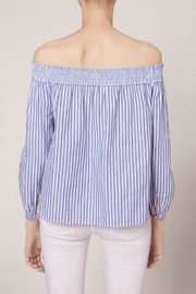 Rag & Bone Stripe Drew Top - Front full body