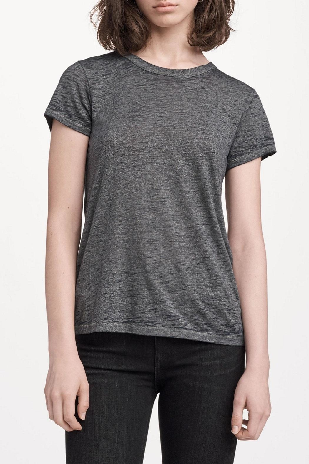 Rag & Bone The Burnout Tee - Front Cropped Image