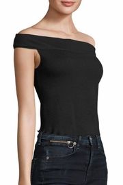Rag & Bone Thermal Off-The-Shoulder Top - Back cropped