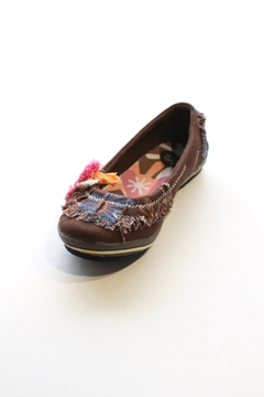 RAG by RD Style Distressed Canvas Flats - Alternate List Image