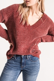 rag poet Clara Chenille Sweater - Product Mini Image