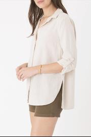 Shoptiques Product: Ibiza Linen Top - Side cropped