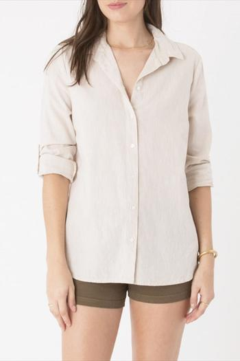 Shoptiques Product: Ibiza Linen Top - main