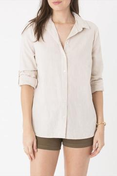 Shoptiques Product: Ibiza Linen Top