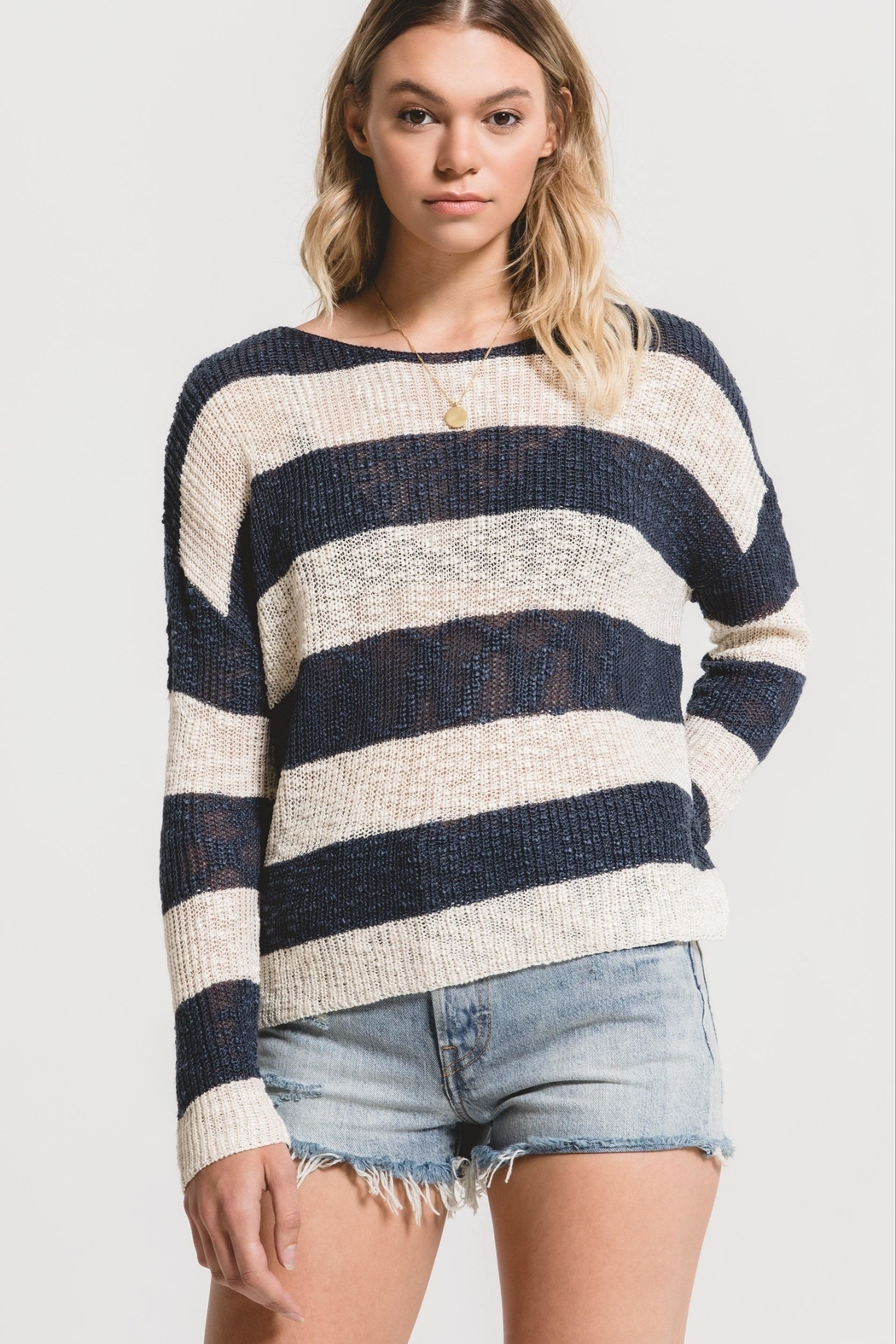 rag poets Tuscany Sweater - Front Cropped Image