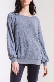 rag poets Adams Textured Sweater - Product Mini Image