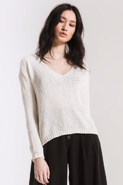 rag poets Bococa Chenille Sweater - Front cropped