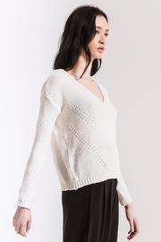 rag poets Bococa Chenille Sweater - Front full body