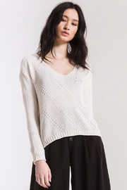 rag poets Bococa Chenille Sweater - Product Mini Image