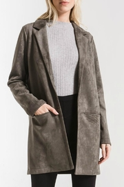 rag poets Bond Faux Suede - Front cropped