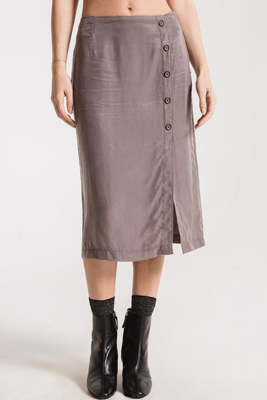 rag poets Calais Skirt - Front Cropped Image
