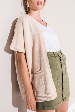 rag poets Cargo Mini Skirt - Alternate List Image